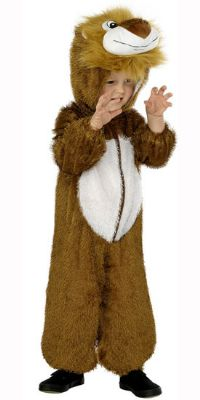 Childs Lion Costume, Buy Childs Lion Fancy Dress Costume from Partytimdirect.co.uk